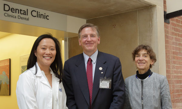 Janice Lee, Congressman Paul Gosar, NIDCR director Martha Somerman