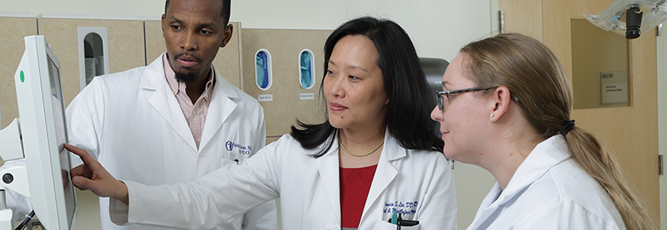 Dr. Janice Lee, NIDCR Clinical Director, and her team.