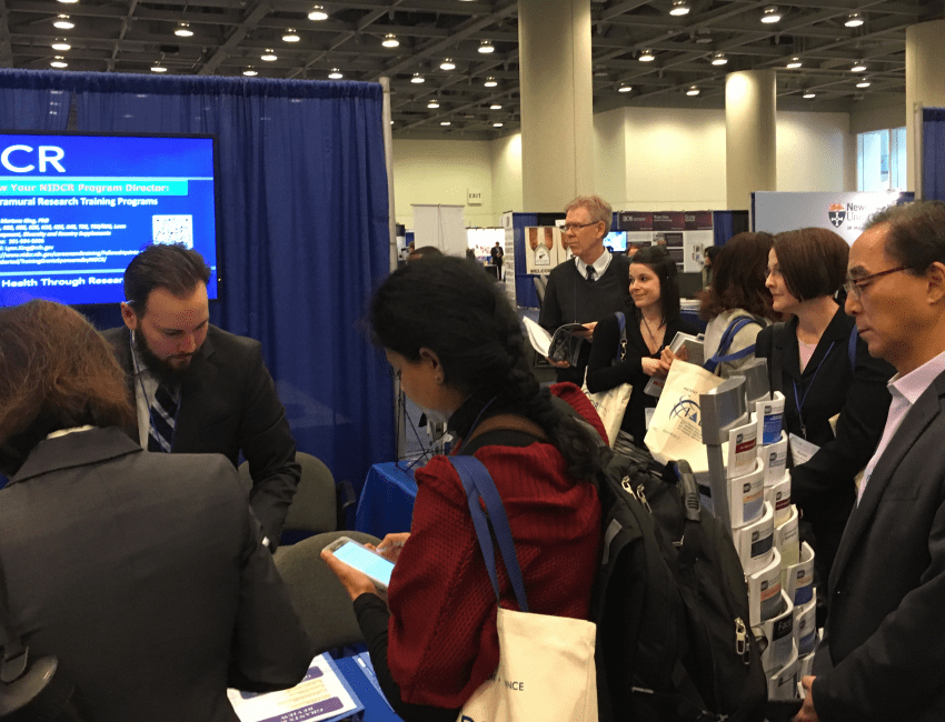 NIDCR booth at AADR 2017
