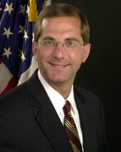 Alex M. Azar II Secretary of the US Department of Health and Human Services