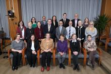 9 representatives from the Friends of NIDCR Patient Advocacy Council (FNIDCR PAC)