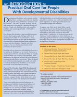 Intro to Oral Care for People with Development Disabilities