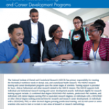 Intramural Research and Career Development Training Programs Fact Sheet