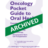 Oncology Pocket Guide to Oral Health